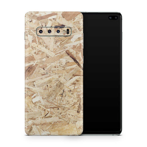 Plywood Galaxy S10 and S10 Plus and S10e Skin