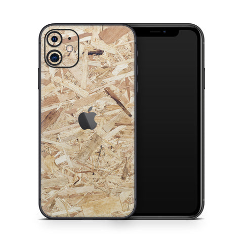 Plywood Skin for iPhone 11