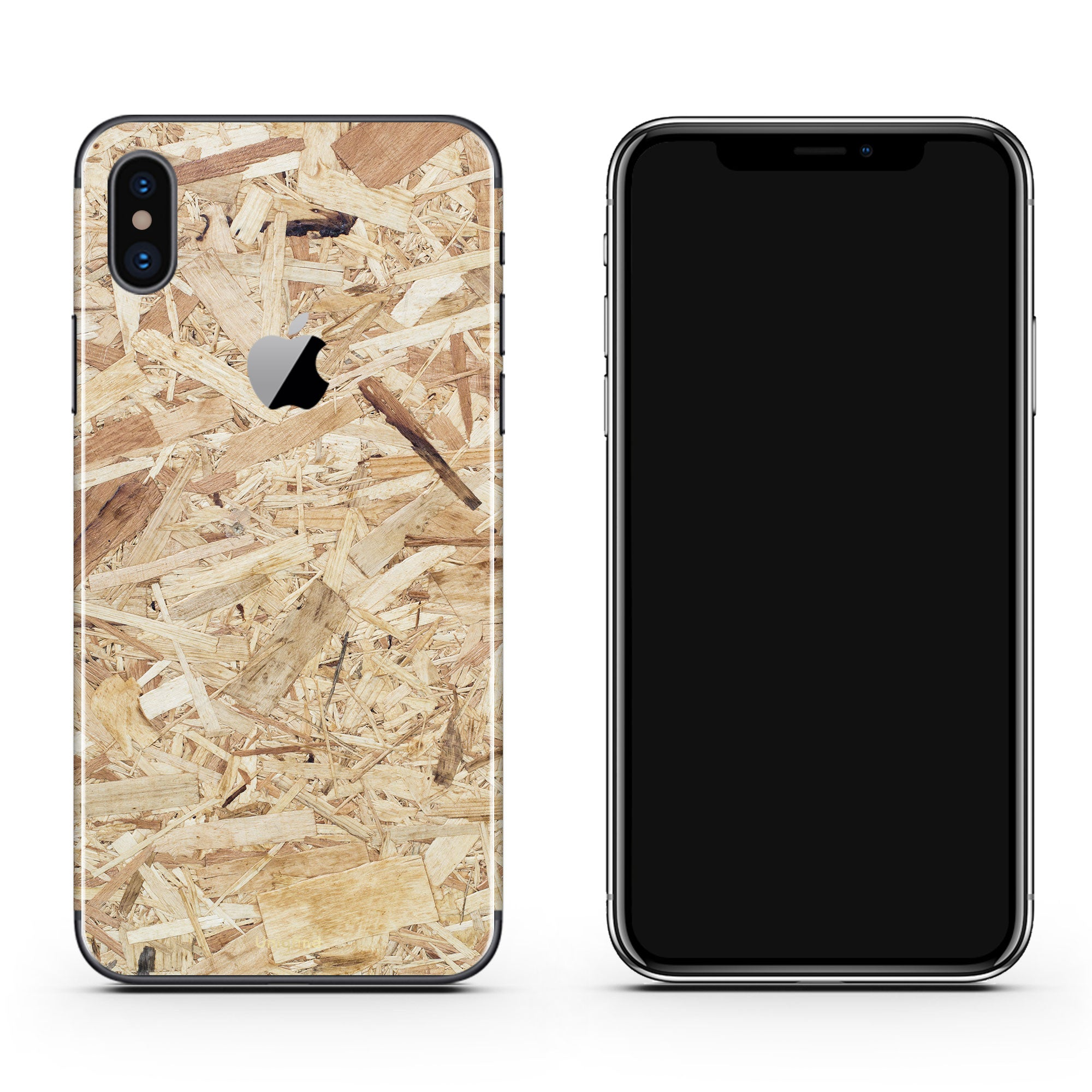 Plywood iPhone X Cover