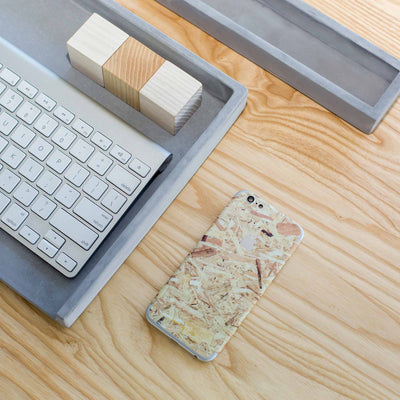 Plywood iPhone 8 Skin + Case