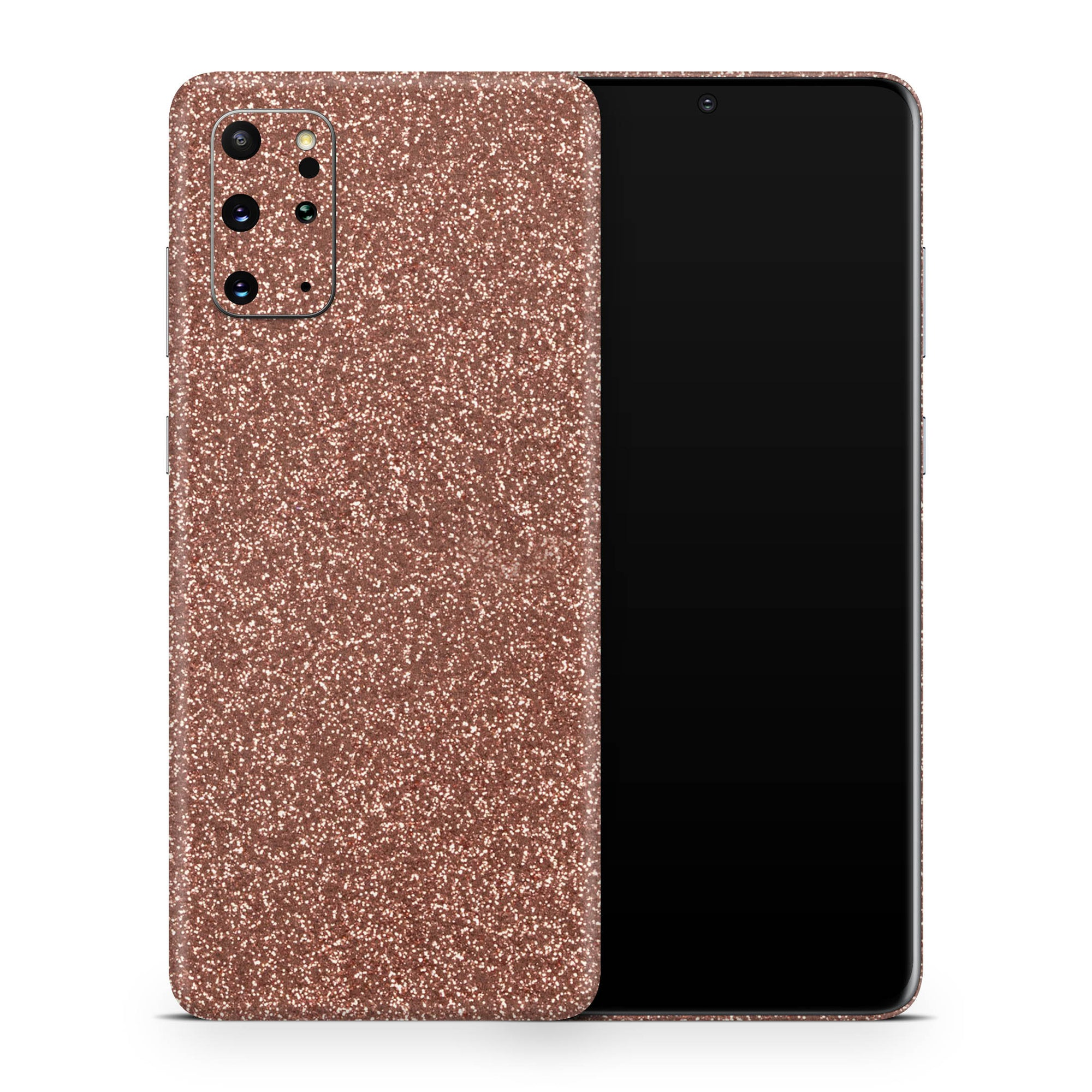 Rosé Glitter Galaxy S20 Plus Skin + Case-Uniqfind