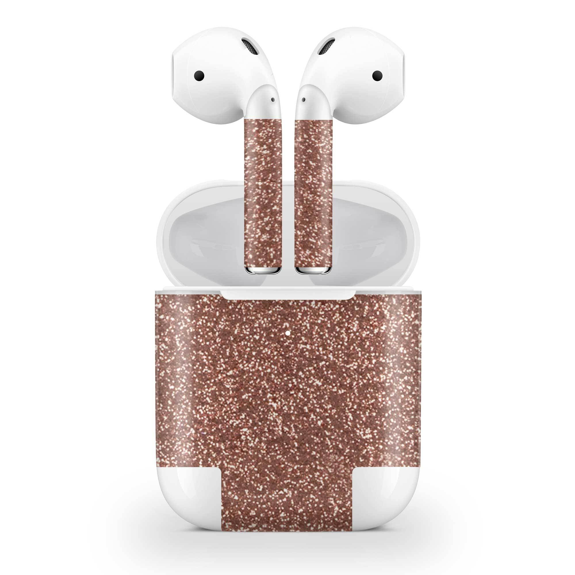 Rosé Glitter AirPods (Wireless Charging) Skin