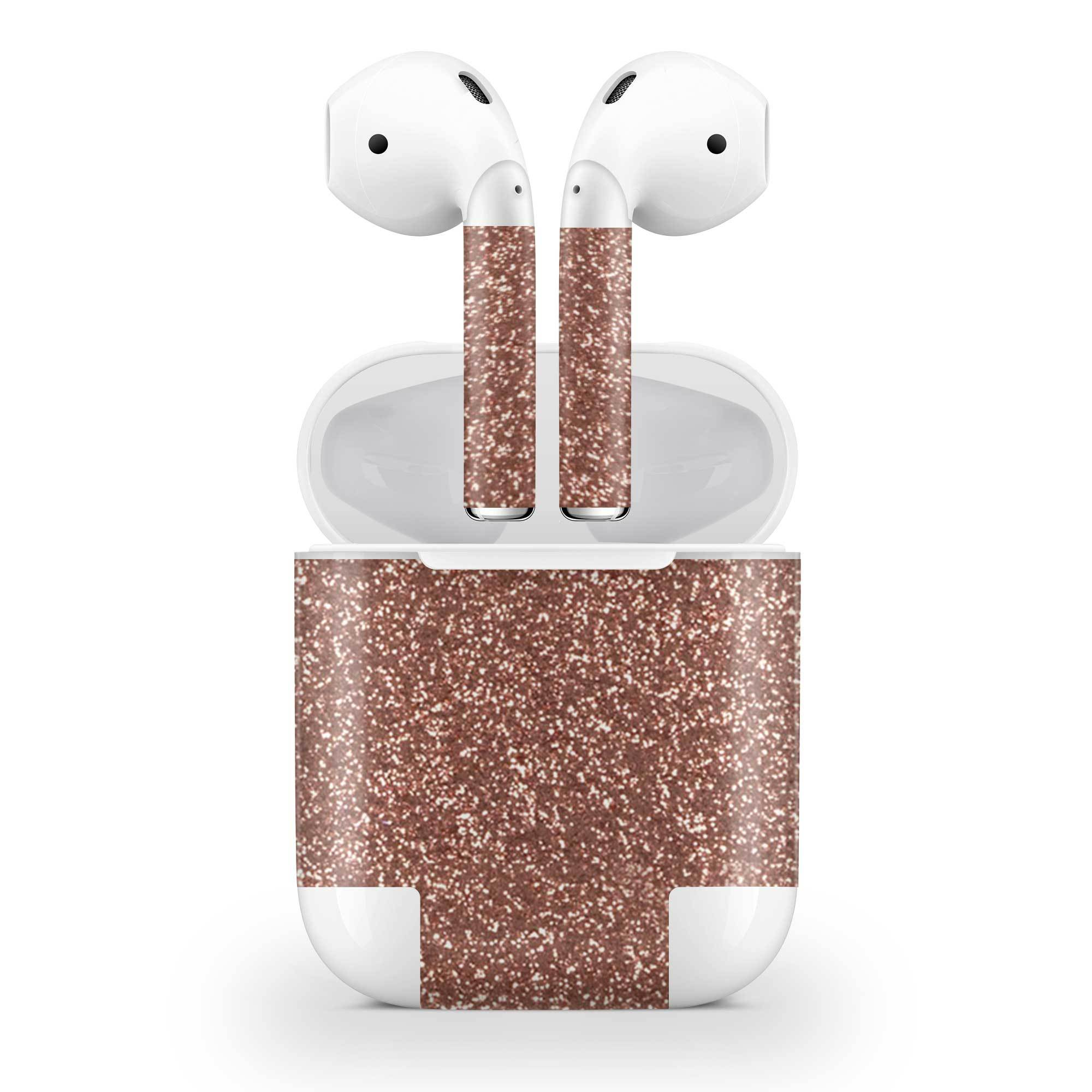 Rosé Glitter AirPods (No Wireless Charging) Skin