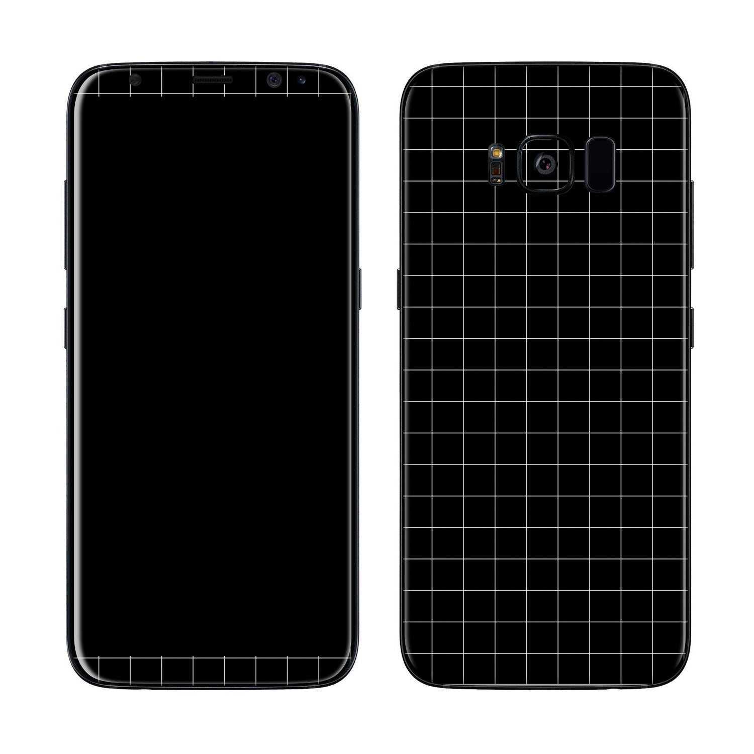 Block Grid Galaxy S8 Plus Cover