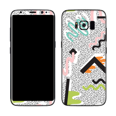 True Memphis Galaxy S8 Skin + Case