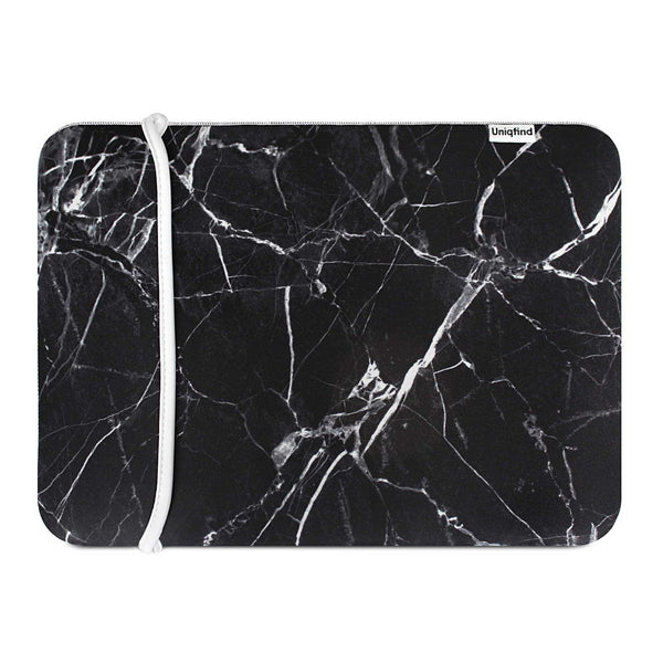 Black Marble MacBook Sleeve