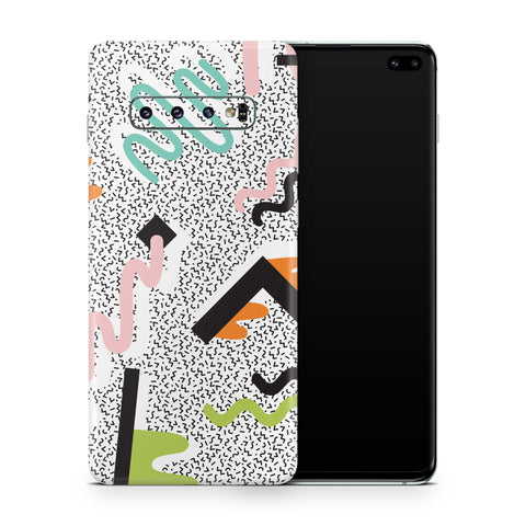 True Memphis Galaxy S10 and S10 Plus and S10e Skin