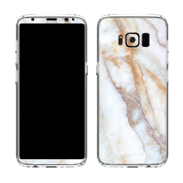 Vanilla Marble Case for Galaxy S8 and S8 Plus