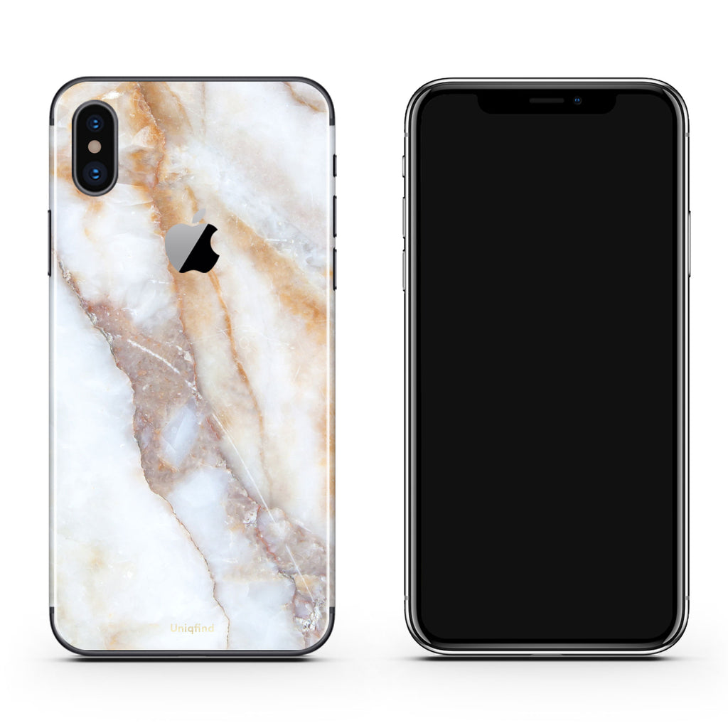 quality design b6b3b 91634 Vanilla Marble iPhone Skin + Case