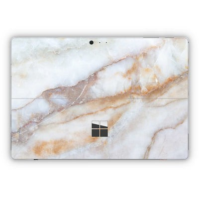 Vanilla Marble Surface Pro 5 and Surface Pro 6 Skin