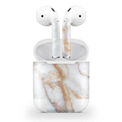 Vanilla Marble AirPods (No Wireless Charging) Skin