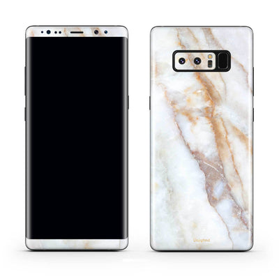 Vanilla Marble Galaxy Note 8 Skin + Case