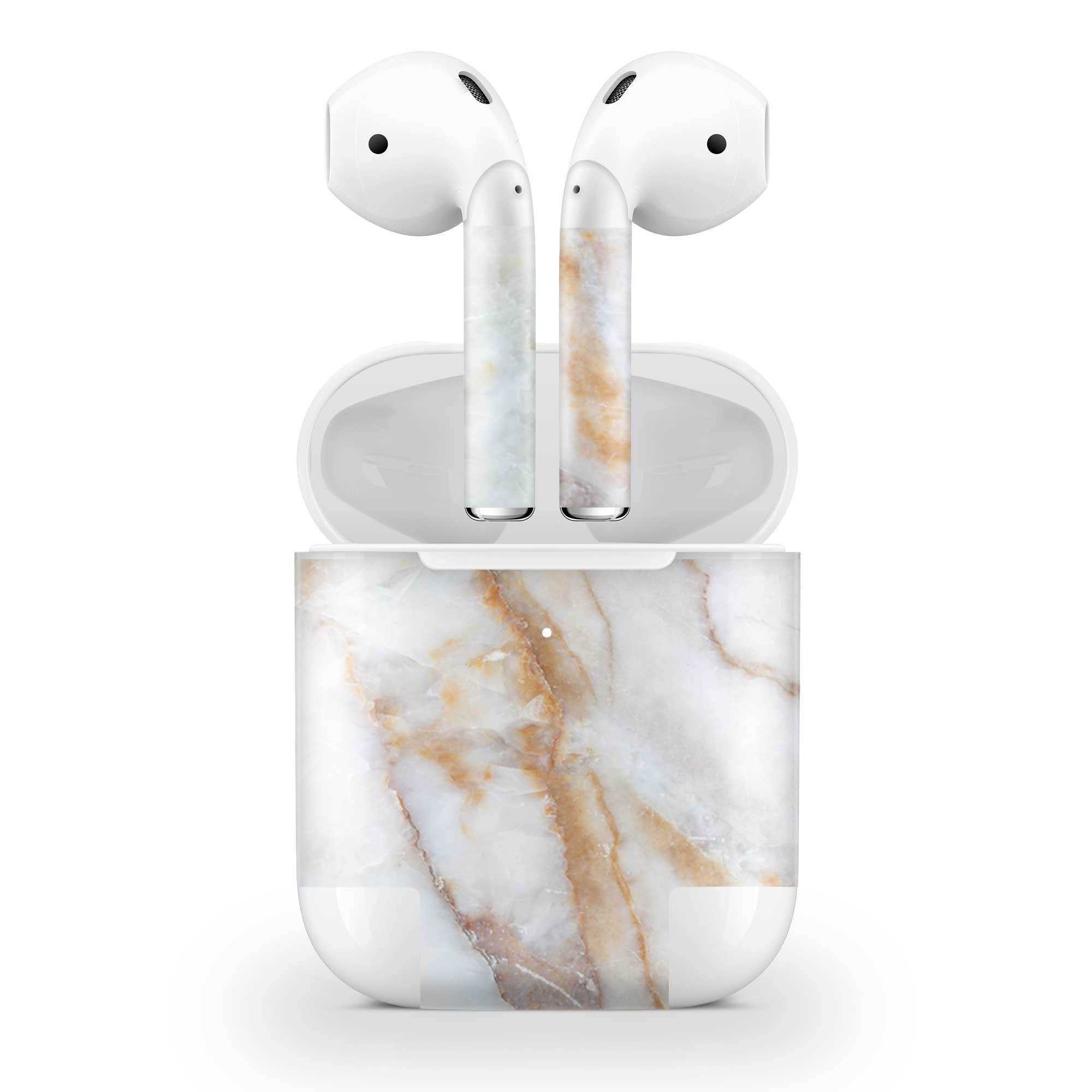 Vanilla Marble AirPods (Wireless Charging) Skin