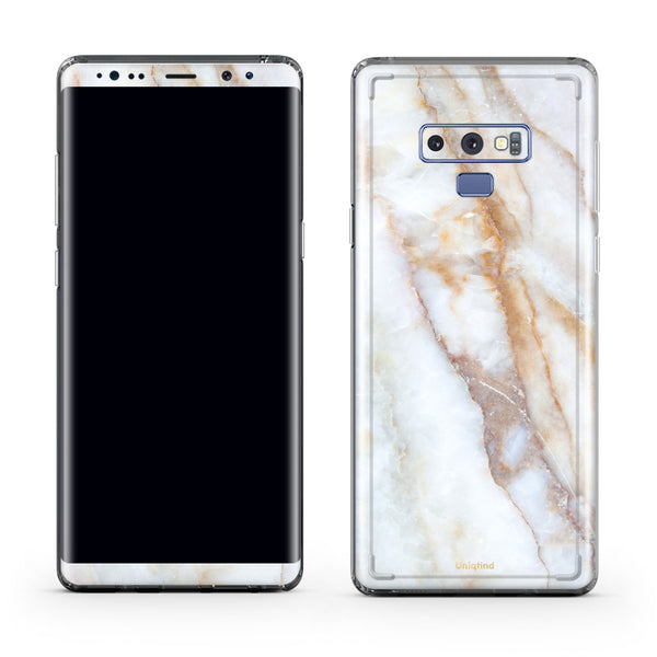 Vanilla Marble Case for Note 9
