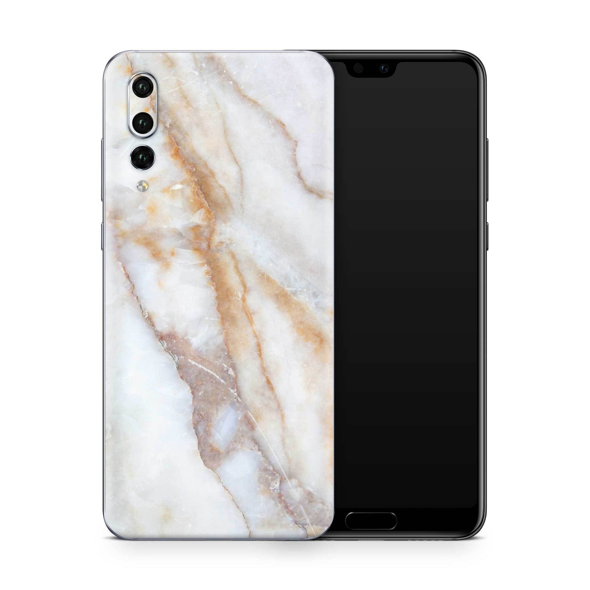 Vanilla Marble Skin Huawei P20 Pro and P30 Pro