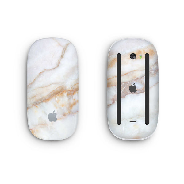 Vanilla Marble Magic Mouse 2 Skin