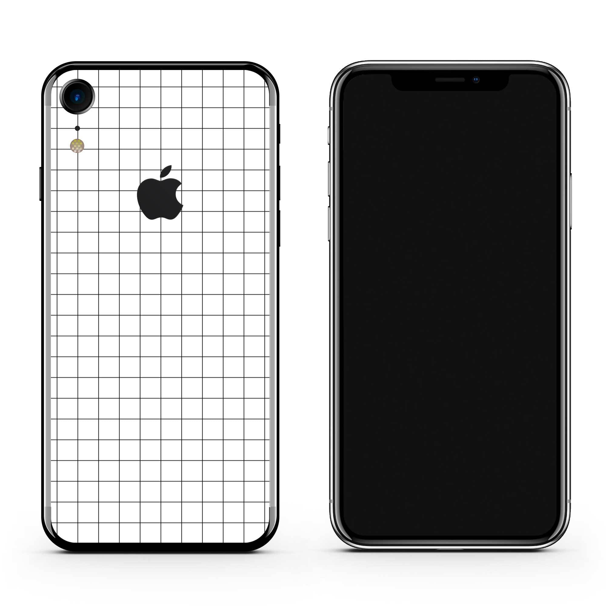 Grid Line iPhone Cover