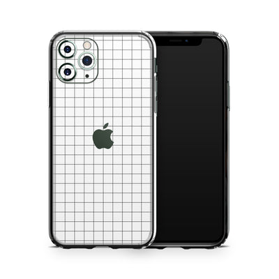 iPhone 11 Pro White Grid