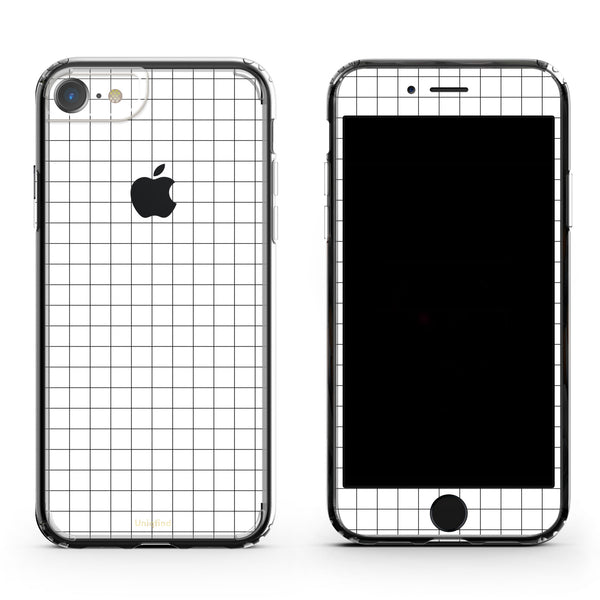 iPhone Case in Grid Lines
