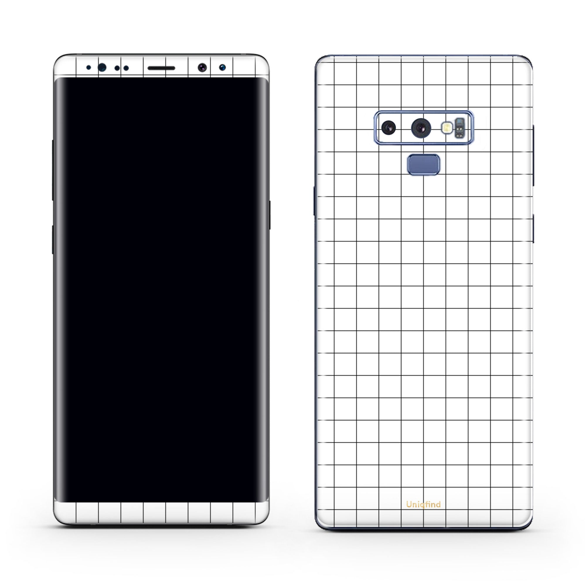 Grid Line Note 9 Cover