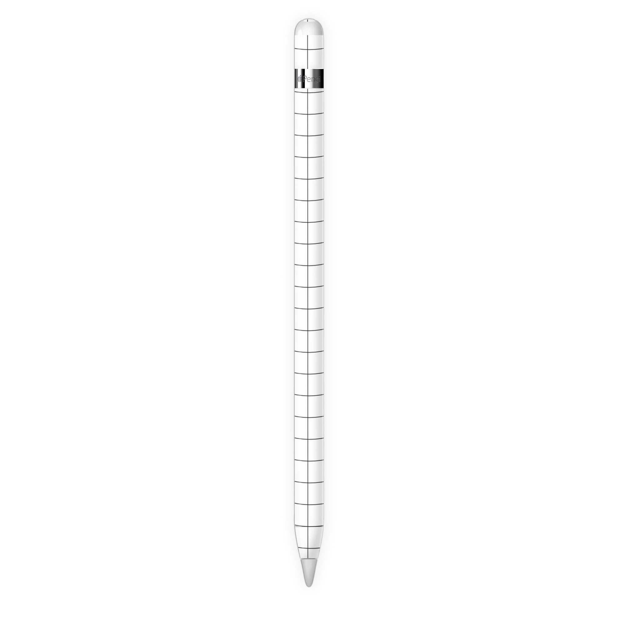 White Grid Line Pencil 1 Skin