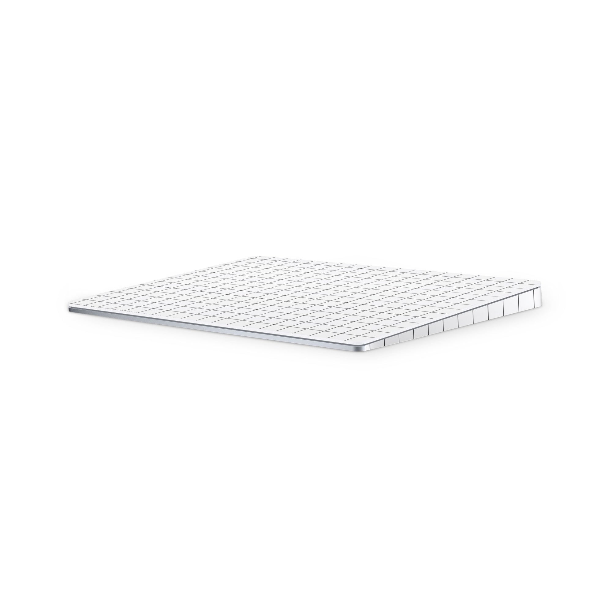 White Grid Line Magic Trackpad 2 Full Coverage Skin