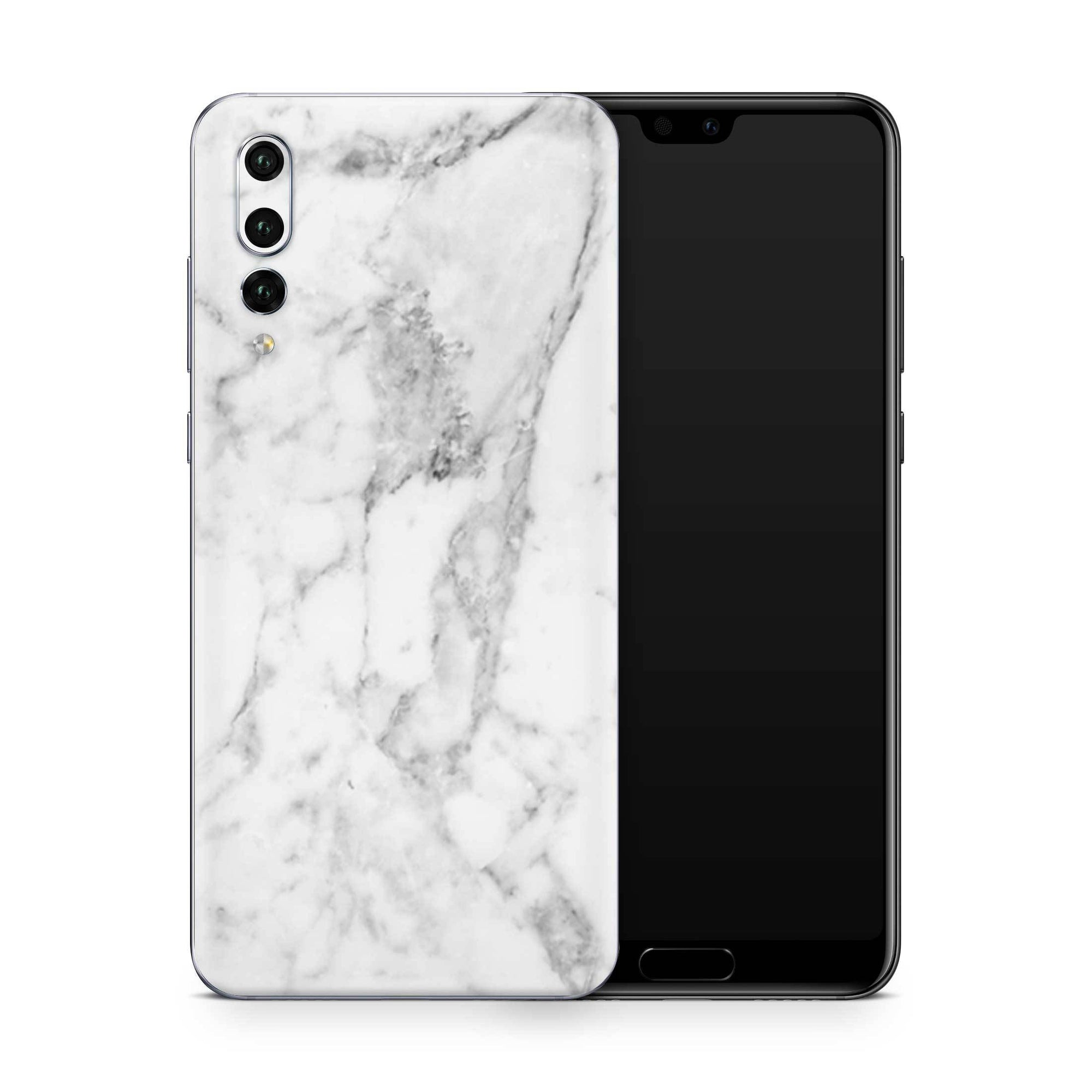 White Marble Skin Huawei P20 Pro and P30 Pro
