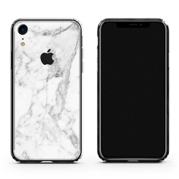 iPhone XR White Marble