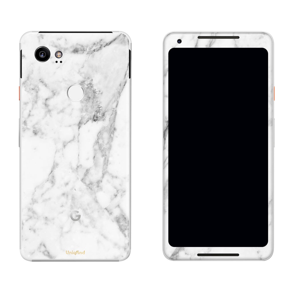 cheap for discount b8db1 ef151 White Marble Pixel Skin + Case
