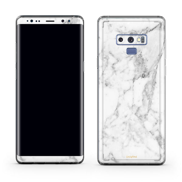 White Marble Cases for Samsung Note 9