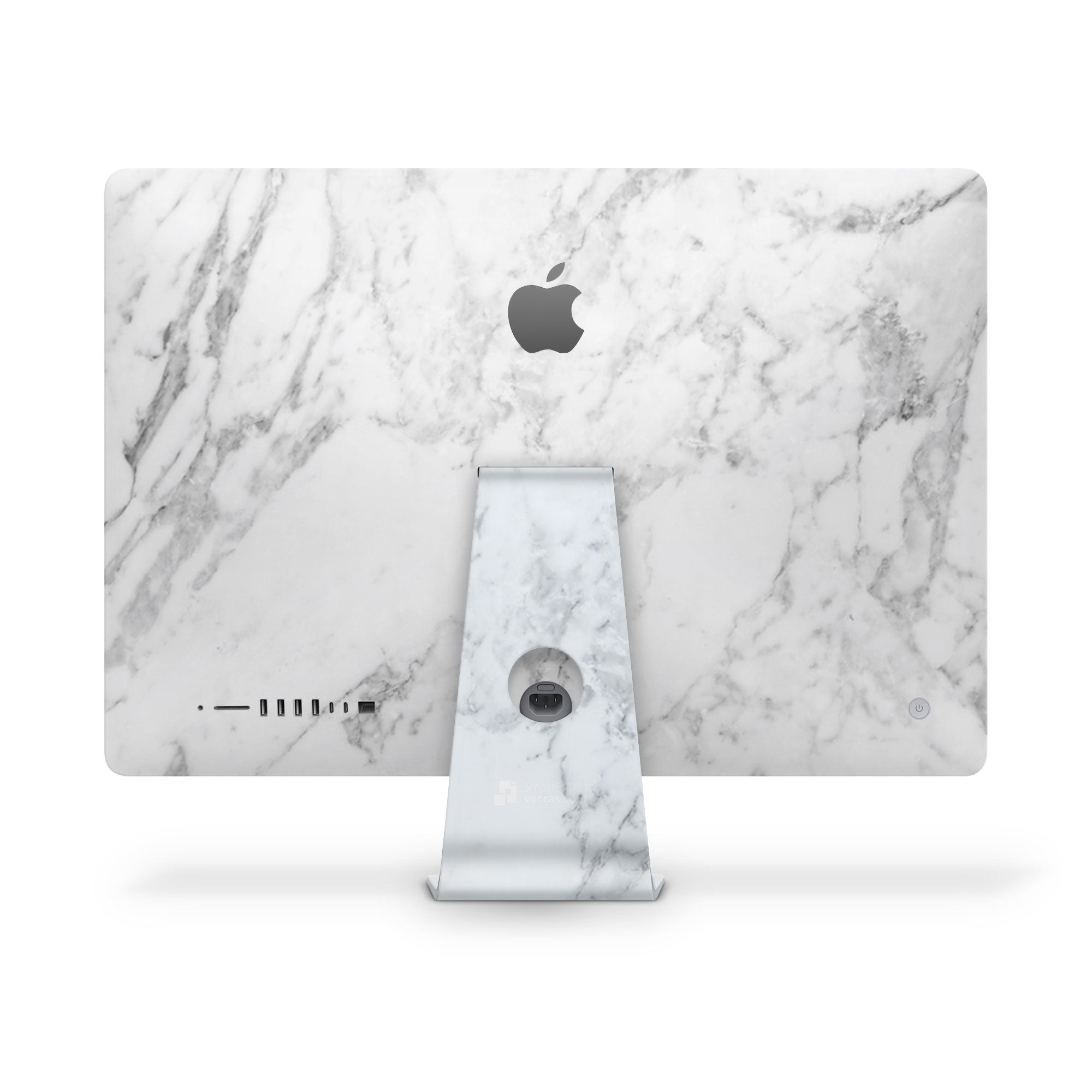 iMac Cover White Marble