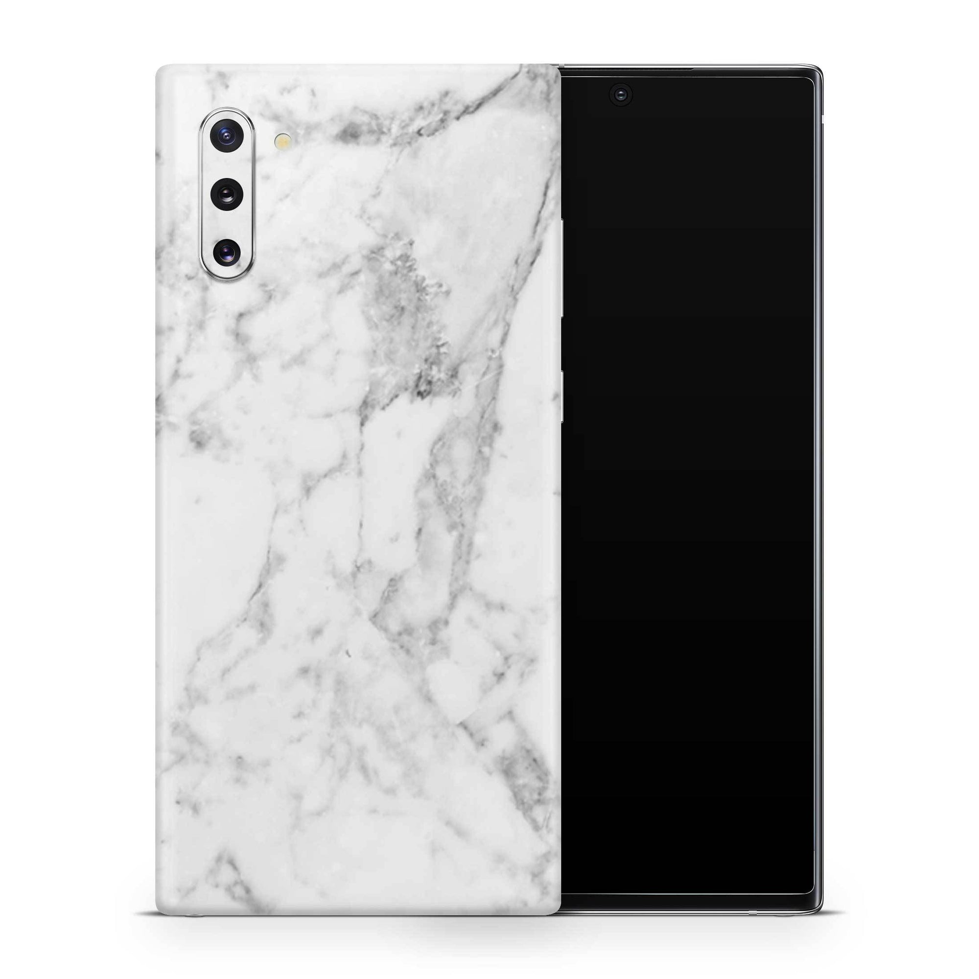 White Marble Samsung Galaxy Note 10 Skin
