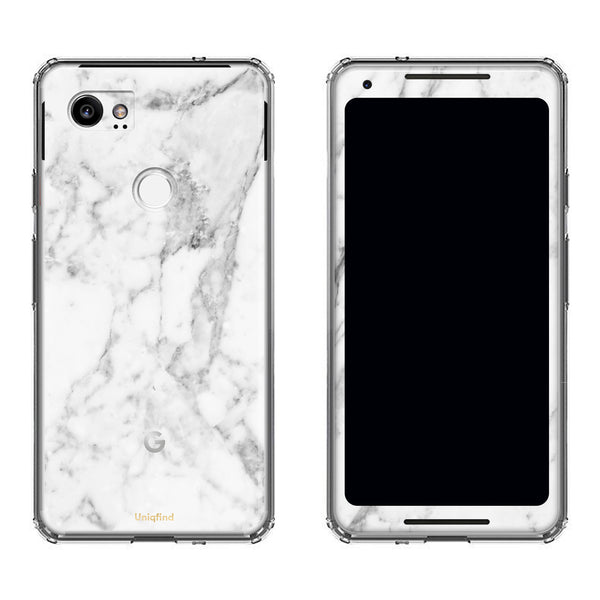 White Marble Case for Google Pixel 2