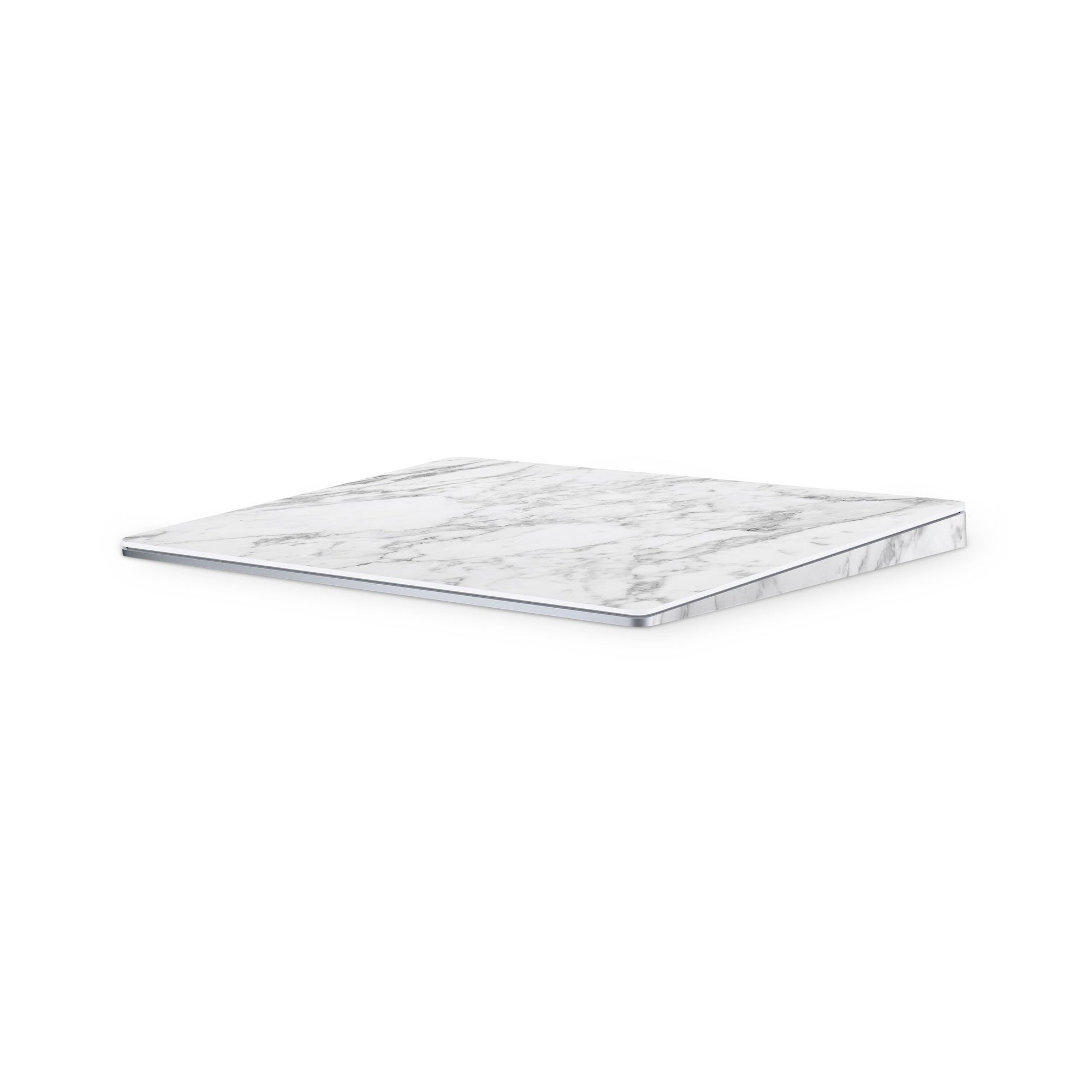 White Marble Magic Trackpad 2 Full Coverage Skin