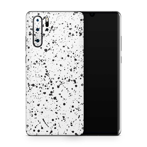 White Speckle Skin Huawei P30 Pro