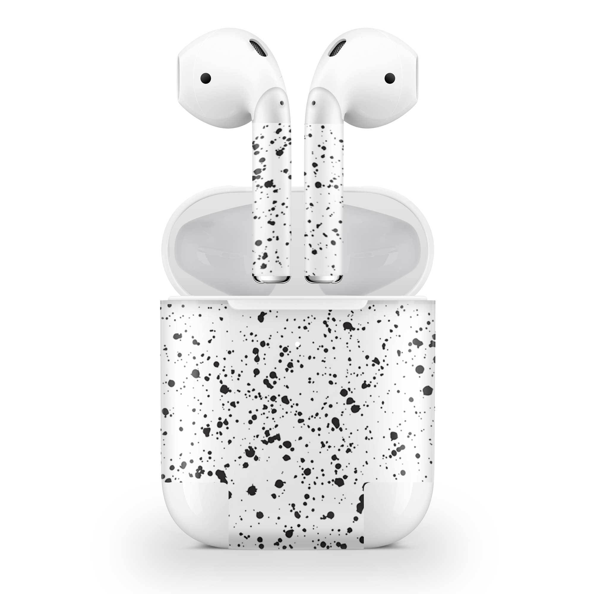 White Speckle AirPods (Wireless Charging) Skin