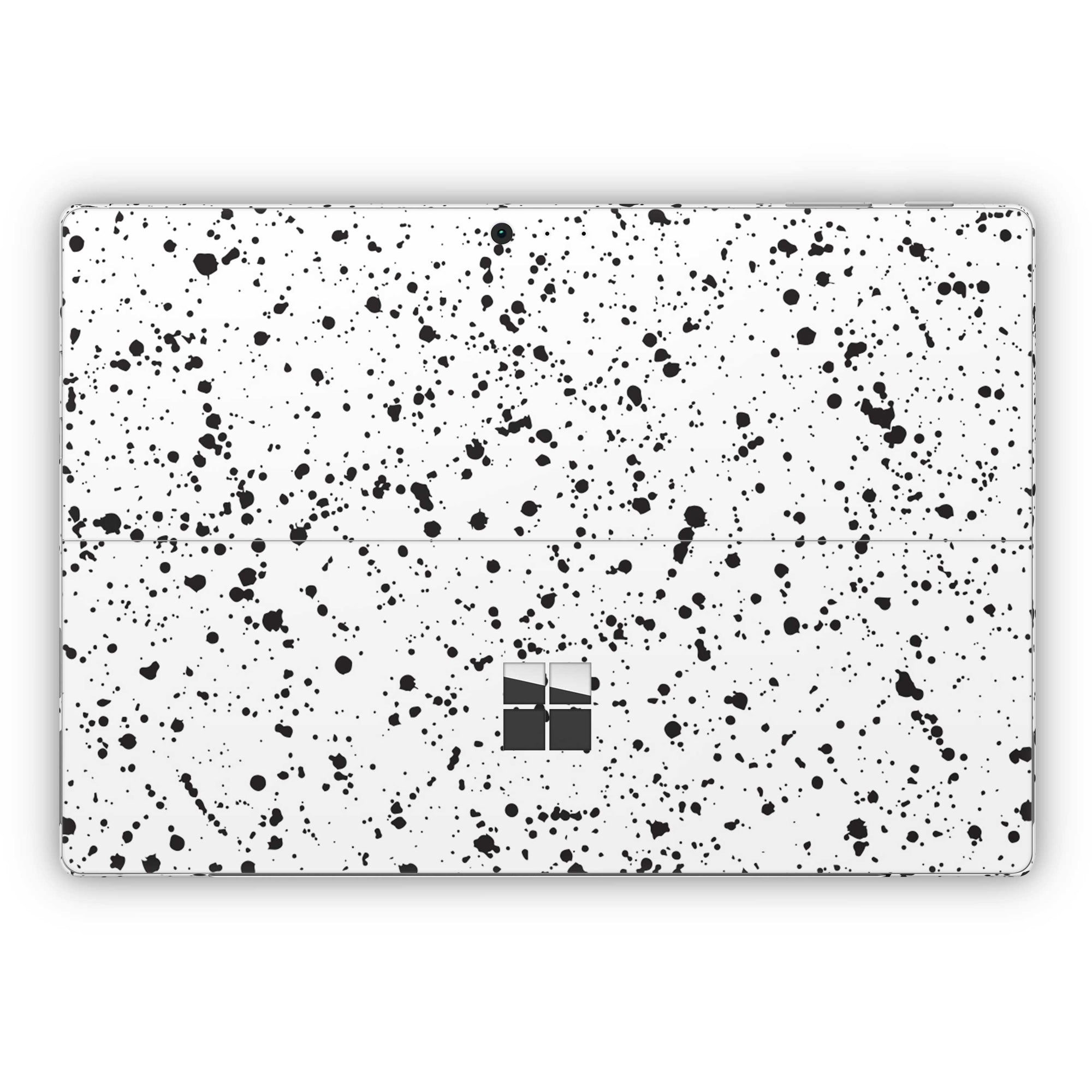 White Speckle Surface Pro 5 and Surface Pro 6 Skin