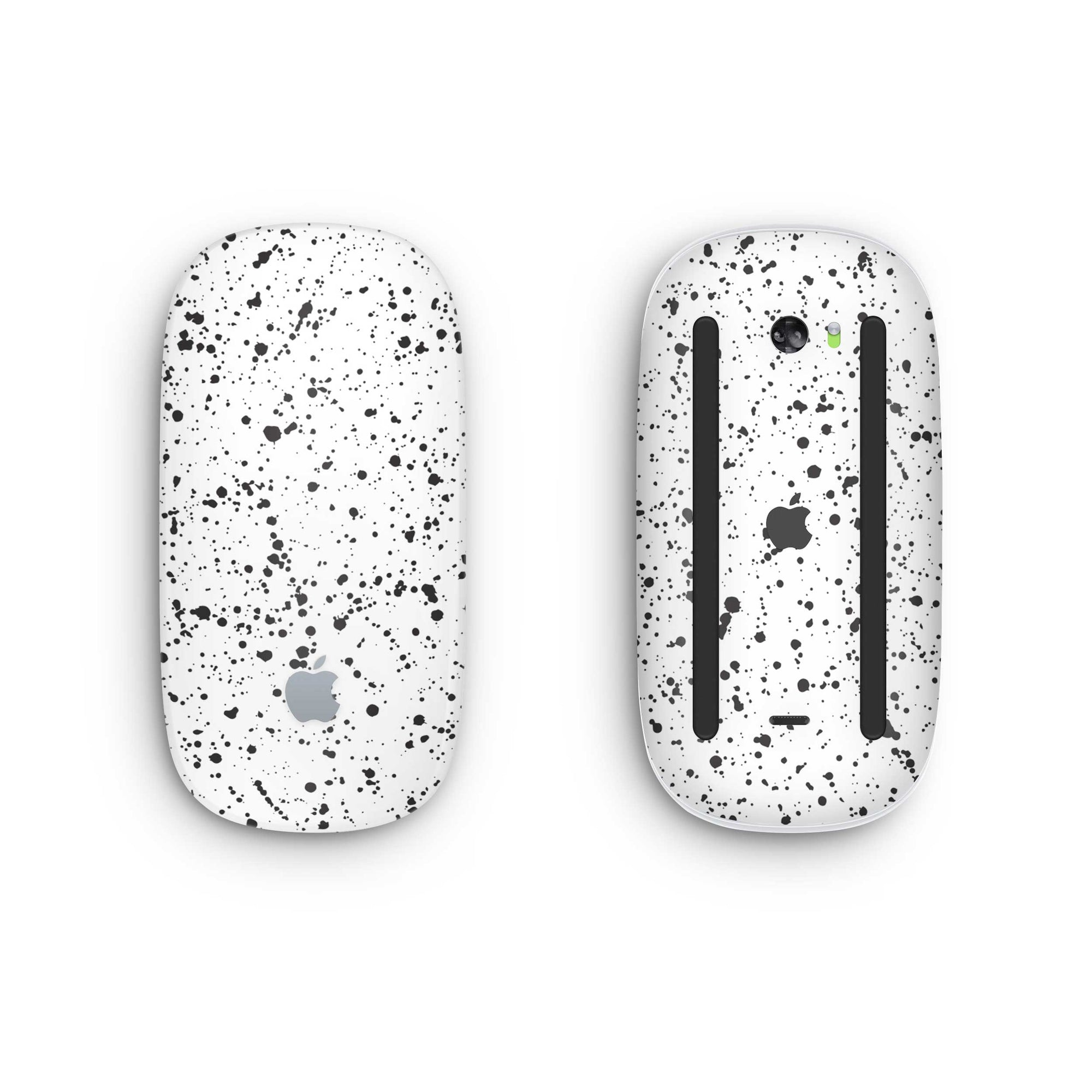 White Speckle Magic Mouse 2 Skin