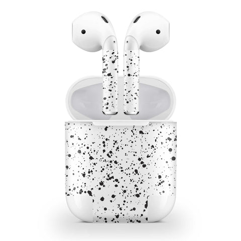 White Speckle Skin AirPods