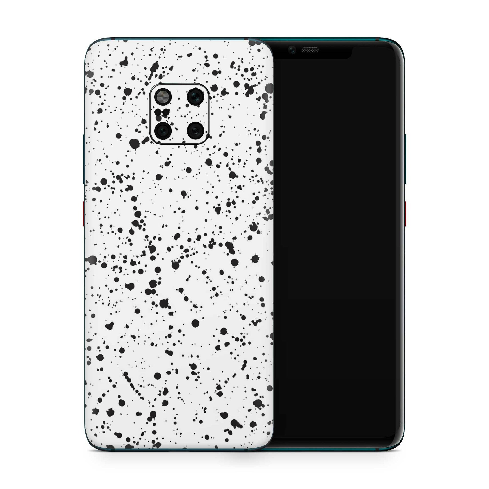 White Speckle Skin Huawei Mate 20 Pro