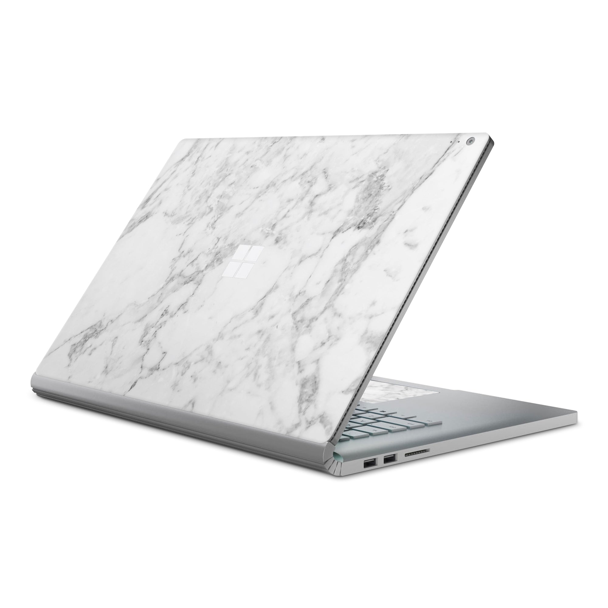 Surface Book 3 Case White Marble