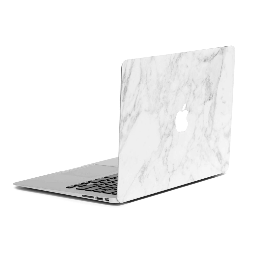 super popular f5bbd 9c816 White Marble MacBook Skin + Case