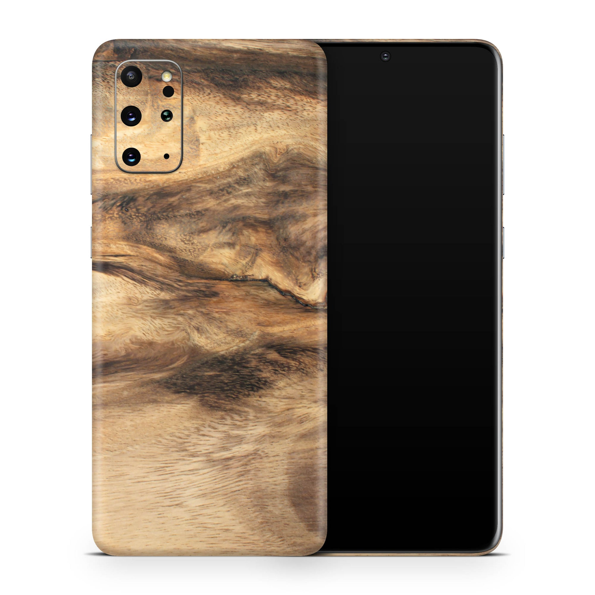 Wood Galaxy S20 Ultra Skin + Case-Uniqfind