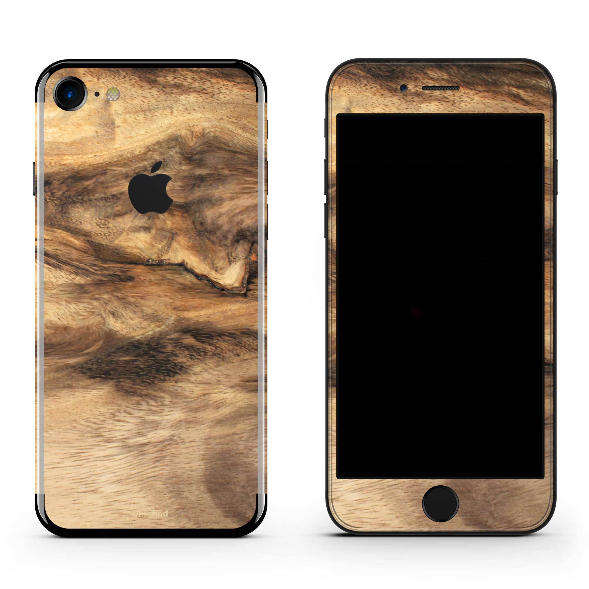 Wood iPhone 7 Skin + Case