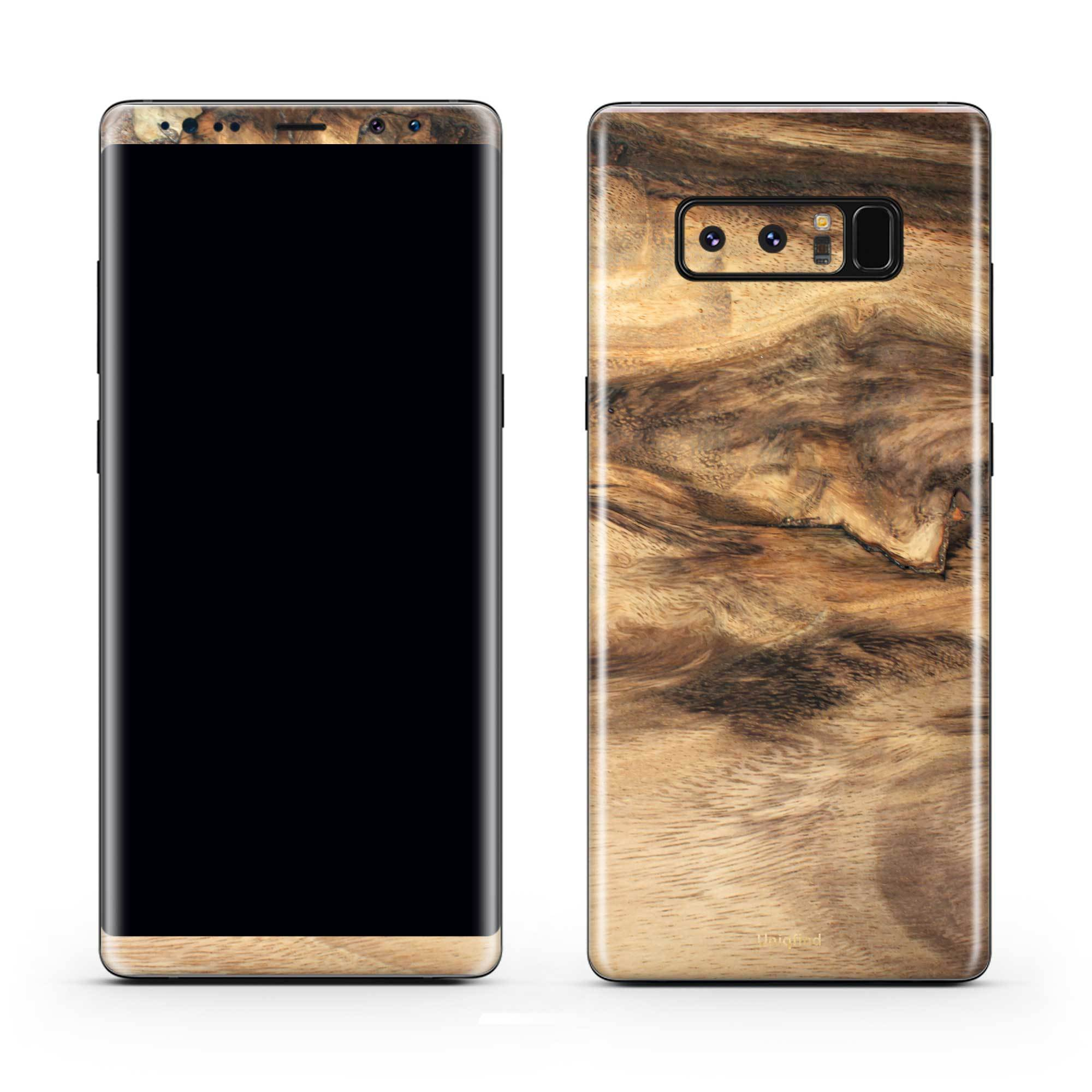 Wood Galaxy Note 8 Skin + Case