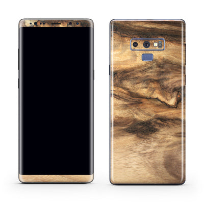 Wood Galaxy Note 9 Skin + Case