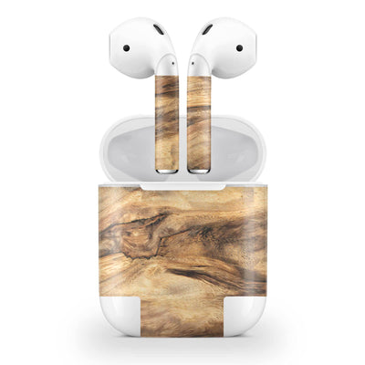 Wood AirPods (No Wireless Charging) Skin