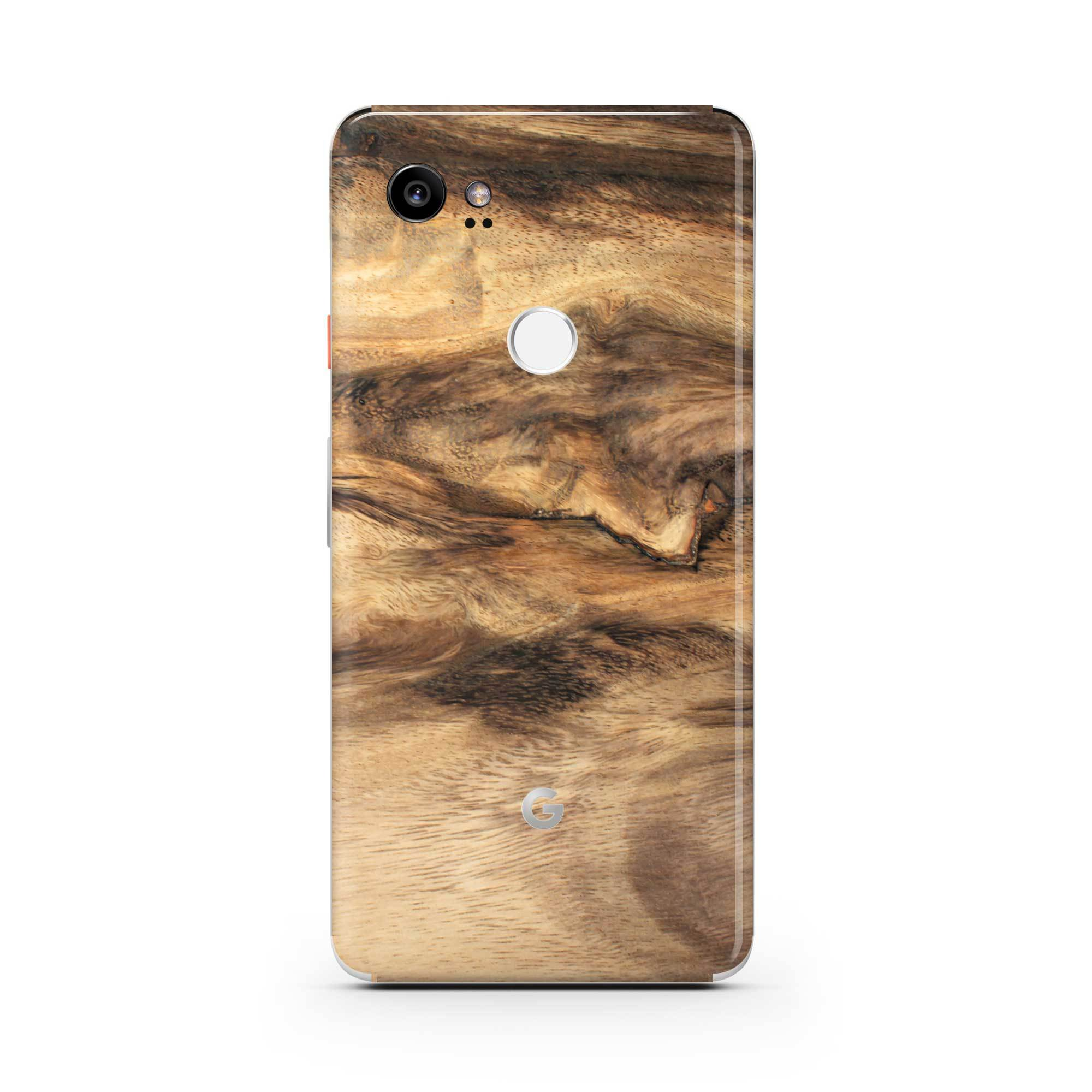Wood Pixel 3a XL Skin + Case