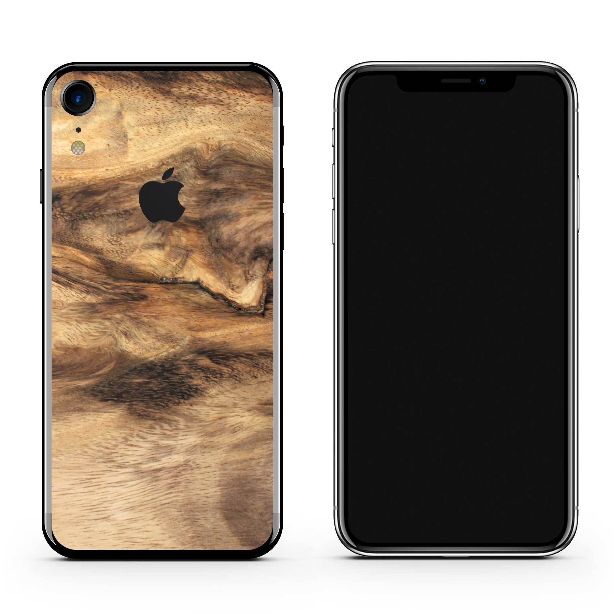 Wooden iPhone XR