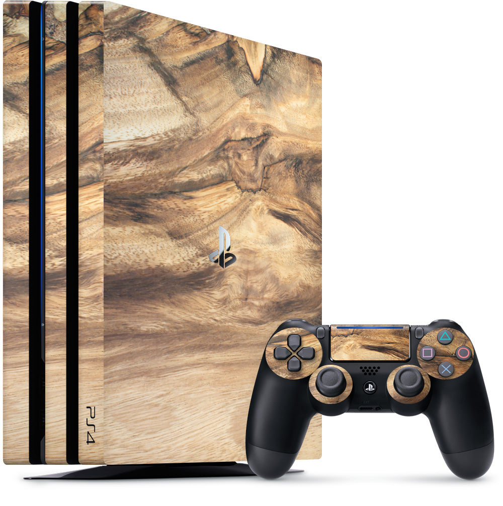 Wood Playstation 4 Pro